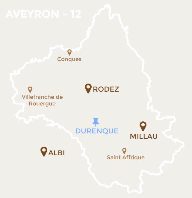 carte Durenque