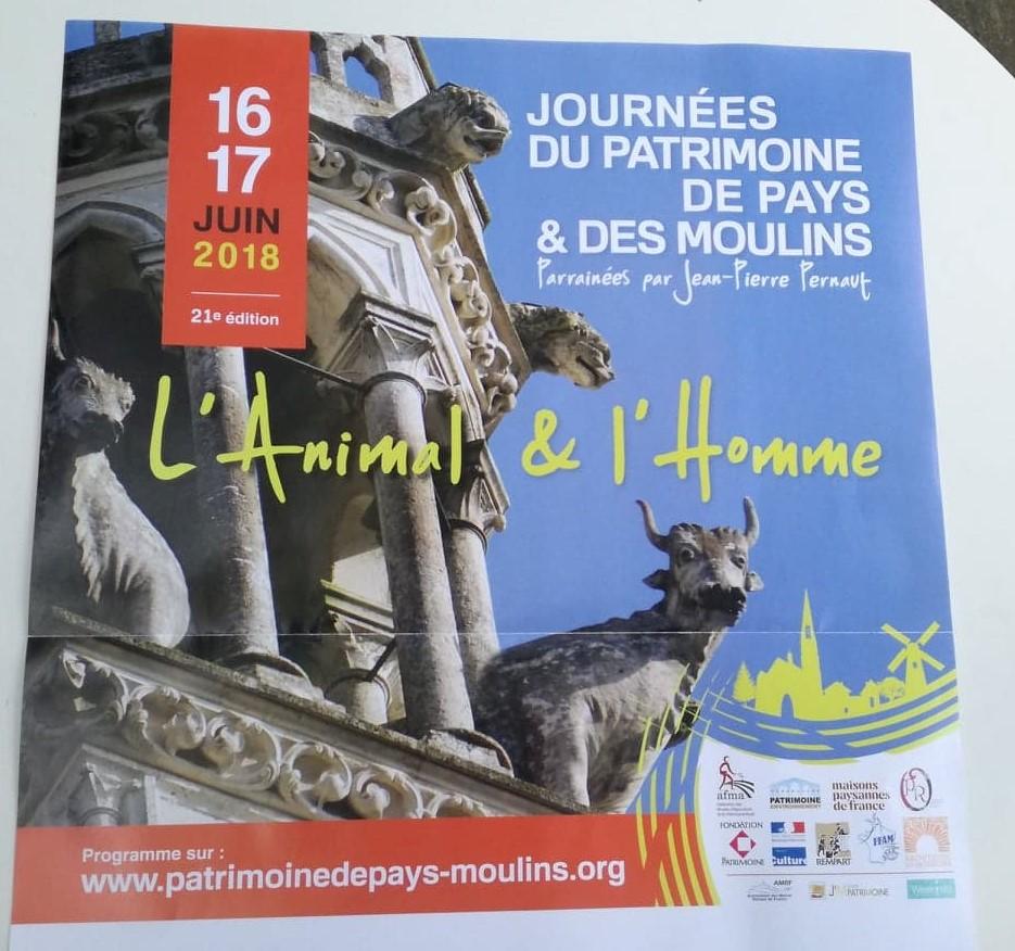 Journée du Patrimoine de Pays et des Moulins