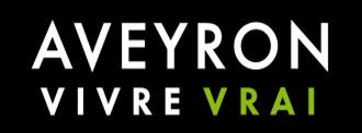 Aveyron Vivre vrai logo